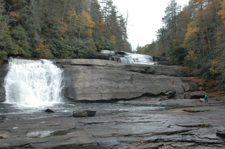 Triple Falls - October 2013 - As I said, lot of freinds