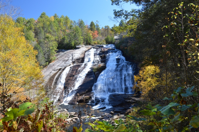 High Falls from the overlook - October 2015
