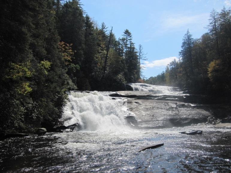 Triple Falls - October 2012