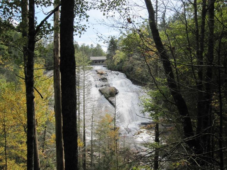 High Falls from below the overlook - October 2012