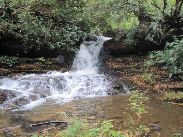 Middle Batson Creek Falls - October 2012