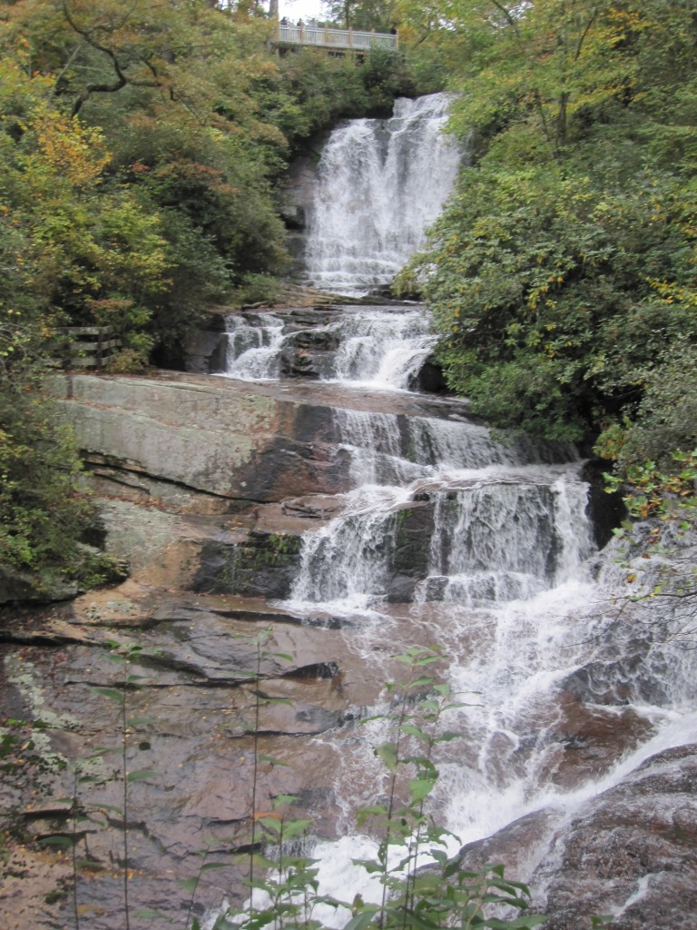 Connestee Falls - October 2012